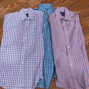 Lot of 3 men's Vineyard Vines shirts